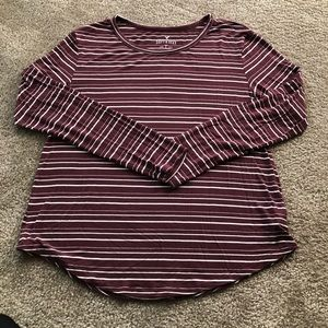 American Eagle soft and sexy striped long sleeve
